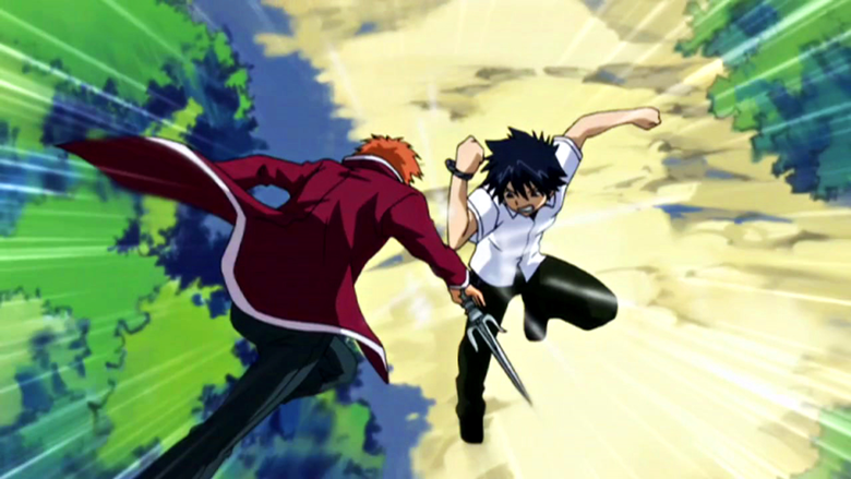 Anime Characters Fighting : Which anime character are you rum and monkey