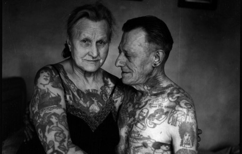 What will your tattoo look like when you get older badass for Tattoos when you get old
