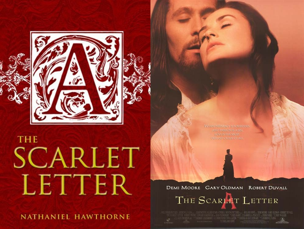 scarlett letter Define scarlet letter: a scarlet a worn as a punitive mark of adultery.
